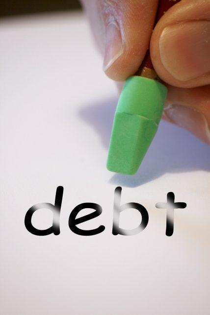 erasing mortgage debt