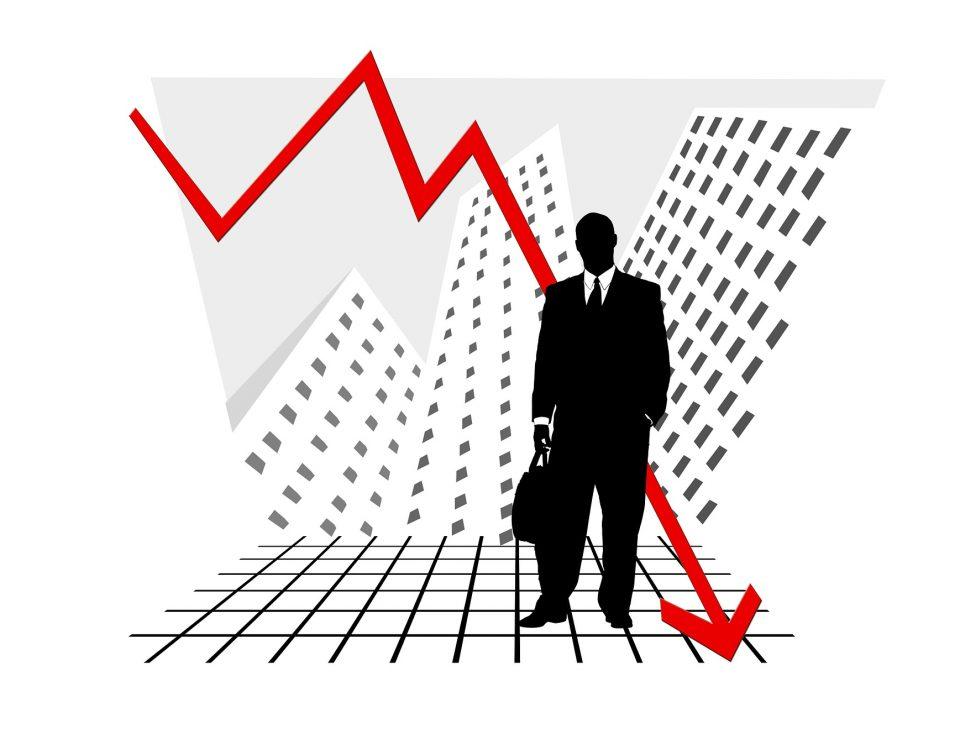 negative interest rates stock crashes