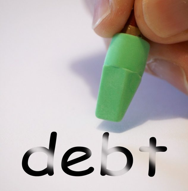 erase mortgage debt