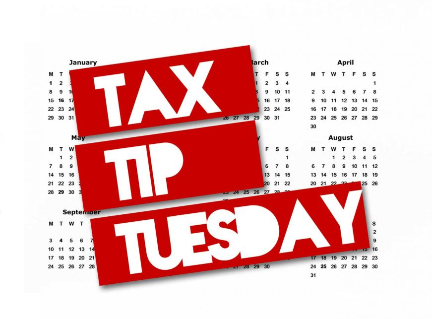 Tax Tip Tuesday Financial Blog Post