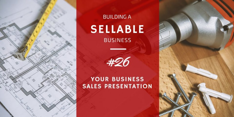 business sales presentation