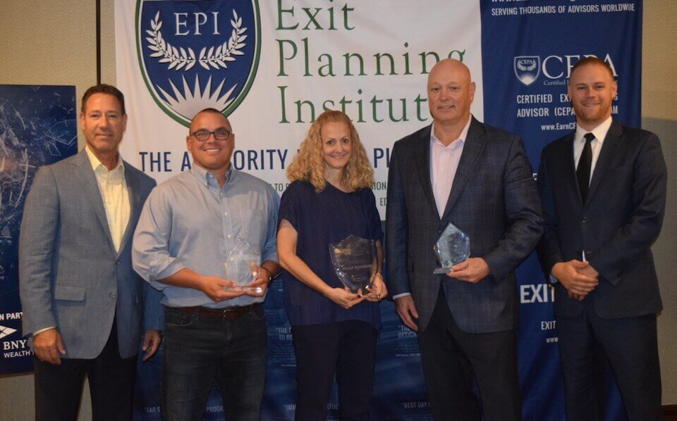 Exit Planning Institute's Leader of the Year