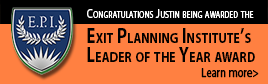 Justin Goodbread - Exit Planning Institute Leader of the Year