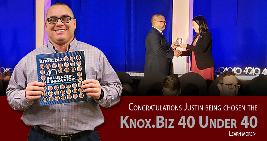 Justin Goodbread 40 under 40 winner
